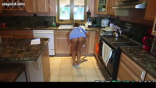 julia ann stepson threesome with house maid & stepmom