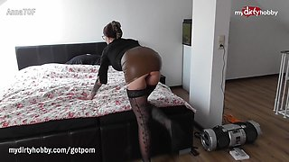 My Dirty Hobby - Busty tattooed MILF enjoys a fat cock