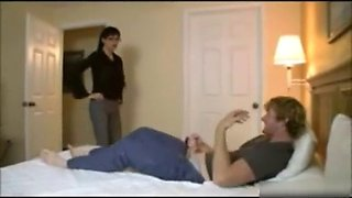 Angie noir mom caught son jerking
