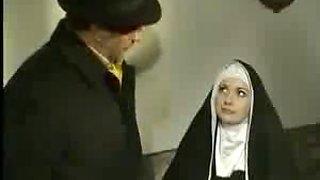 Nun getting banged