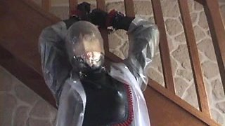 rubberdoll tied and bagged