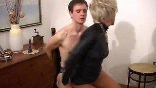 Aunt teaches Nephew Sex Ed