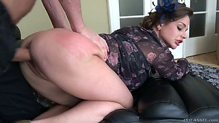 Naughty big breasted hottie Cathy Heaven is actually ready for anal