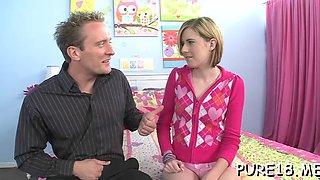 joyful mistress loves peckers teen clip 1