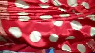 Satin Silk Saree Maid