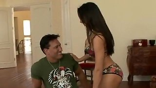 Rachel Starr seducing her friend's brother