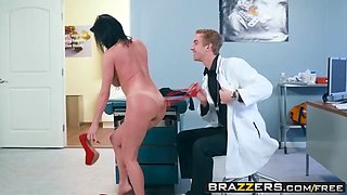 brazzers - doctor adventures -  mom visits doc scene starrin