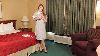 ENF Hotel Maid made to strip