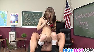 Rough Tryouts With Schoolgirl Sensi Pearl