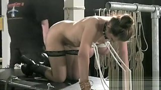 Sexy female sadomasochism scenes with punishment and sex