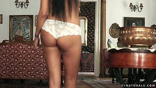 Ardent Hungarian nympho Lexi Layo gets fucked by her romantic neighbor