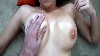 Recording Oiled Boobs