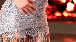 Flirty Silver Dress