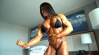 AS ripped and oiled up