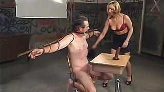 old male sub licks mistress lexi's tight asshole