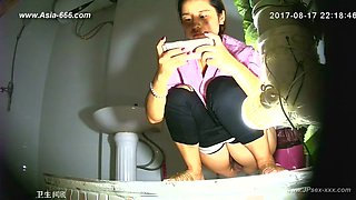 chinese girls go to toilet.91