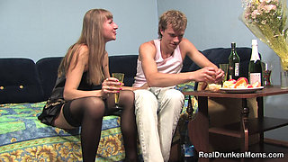 SLIM MATURE RUSSIAN DRUNK ELENA
