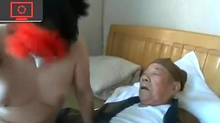 two grandpa, a whore and a pimp-operator