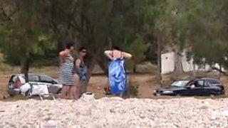 flashing 3 grannies