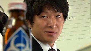 Amazing Japanese chick Anri Okita in Incredible Secretary, BDSM JAV video