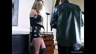 Lyn Store is this dominatrix slave
