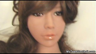 Non Stop Sex with Sex Doll GF!