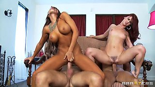 madison ivy and karlie montana having their first swingers foursome