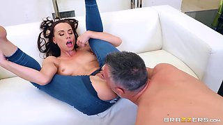 Super sexy aidra fox oiled up from top to the very perfect bottom