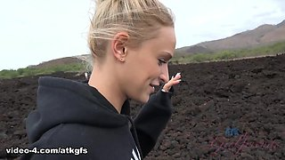 Emma Hix in Emma looks so tasty when look in the ocean - ATKGirlfriends
