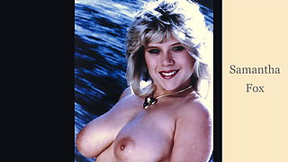 Anti-gravity tits from the 1980s