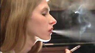 Lynn Sassy and Britney Smoking