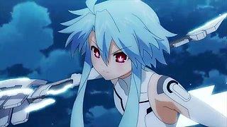 Hyperdimension Neptunia henshin Anime