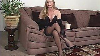 Fabulous amateur MILFs, Blonde sex scene