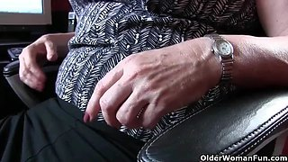 Church lady andrea can&#039t control her need for orgasm