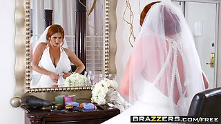 Brazzers - Brazzers Exxtra - Dirty Bride scene starring Lennox Luxe and Chad White