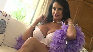 Mature lady Rita Daniels and other cougars show off their bodies