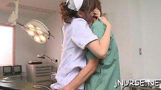 cock sucking nurse on cam segment film 1