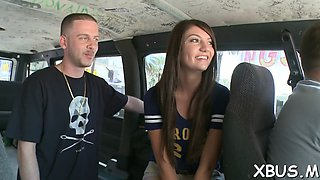 mischievous gal fucked in a car movie video 1