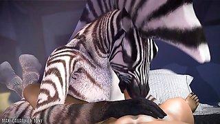 zebra furry sex