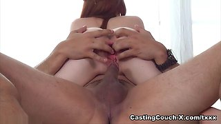 Incredible pornstar Dolly Little in Fabulous College, Redhead porn movie
