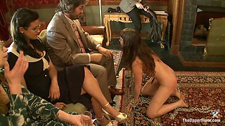 Cherry Torn & Bella Rossi & Seda in Slave Review: Seda - TheUpperFloor