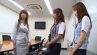 Horny Japanese chick Nozomi Kohara, Yua Yoshikawa, Nozomi Osawa in Fabulous Big Tits, Blowjob JAV video