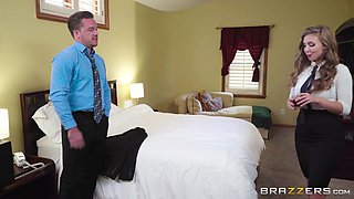 lena paul gets her big butt fucked by a customer