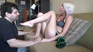 Foot gagging 2