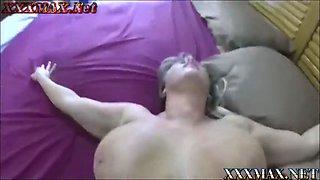 son takes advantage of sleeping mom