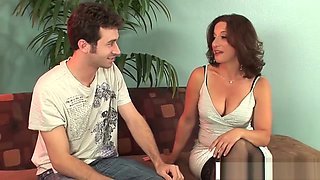 Amazing StepMother Melissa Monet Wants To Fuck Hot Tender Step son