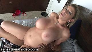 Naughty nurse Sara Jay fucks her patient