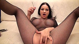 Smoking Fetish- Abbie C