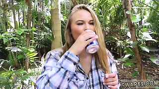 Mom boss dad friend's daughter hd first time Backwoods
