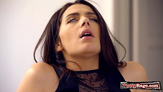 Busty pornstar handjob with orgasm